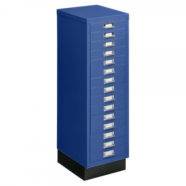 Schubladenschrank DIN A4, 15 Schübe