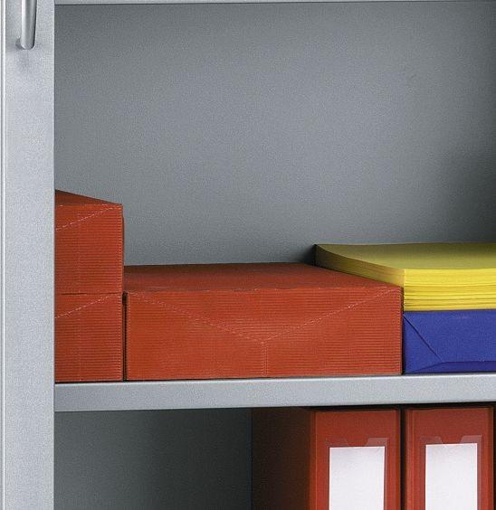 Stahl-Fachböden für Rollladenschränke SSI Schäfer, 2er-Pack