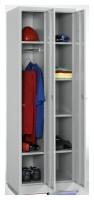 Kleiderspind-Set, 2 Spinde mit 6 Fachböden insgesamt